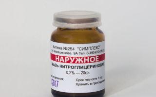Нитроглицериновая мазь для повышения потенции