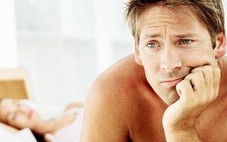 Причины мужской импотенции