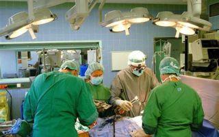 Операция по удалению рака предстательной железы