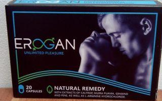 Erogan — лекарство для потенции