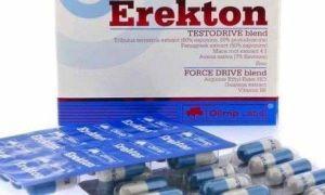 Таблетки Эректон