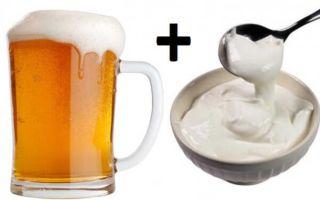 Влияние пива и сметаны на мужскую потенцию