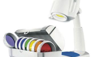 Лампа Биоптрон для лечения простатита