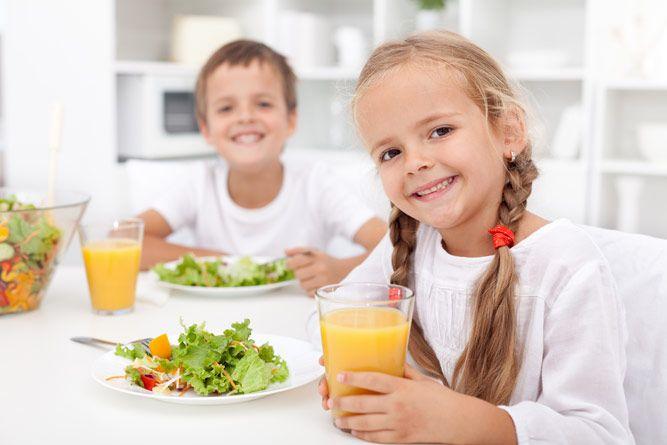 Смена рациона питания