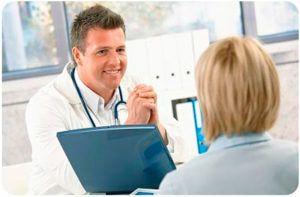 Диагностика любого заболевания начинается с устного опроса пациента