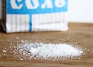 необходимо отказаться от соли