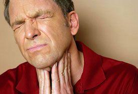 Ангина - вызывает гломерулонефритовую болезнь