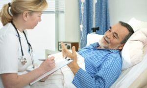 в случае появления незначительных отёков назначается амбулаторное лечение