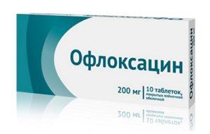 Препарат Офлоксацин