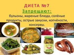 диета 7