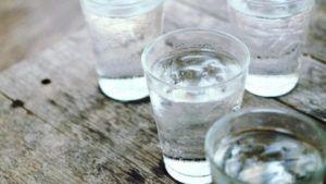 пить много воды