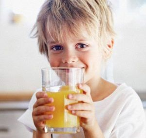 Необходимо выпить определенное количество жидкости