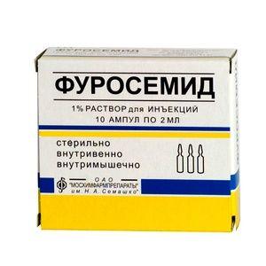 Ампулы Фуросемид