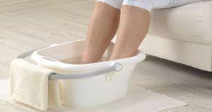 ноги в холодную воду