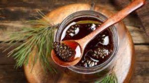 Настойиз сосновых шишек и меда