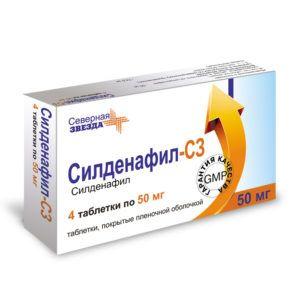Основной активный компонент этого лекарственного средства – силденафил