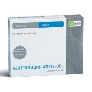 Препарат Азитромицин форте