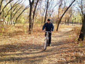 Прогулки на велосипеде для здоровья и настроения