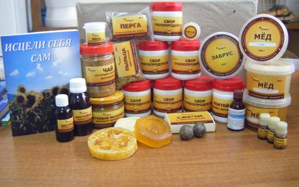 Продукты пчеловодства при аденоме простаты