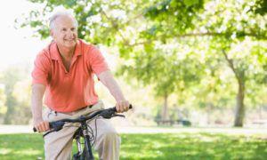 Езда на велосипеде способствует снятию стресса