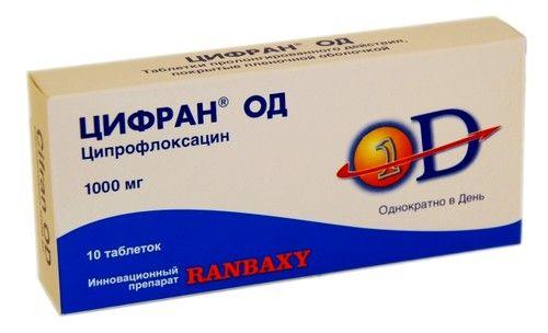 Острый простатит цифраном какой препарат при простатите
