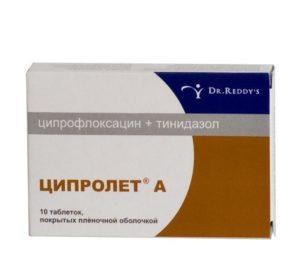 Препарат Ципролет А