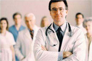 Обращение к медицинским специалистам