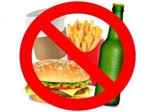 Ограничения в продуктах питания