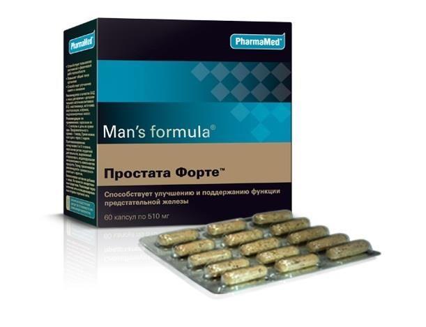 Форте от простатита детралекс помогает при простатите