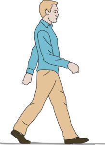 прогулка пешком