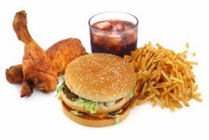 Вредное питание для потенции