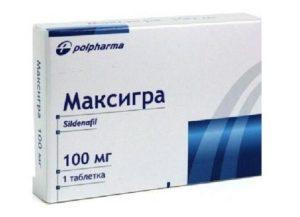 Максигра – лечит эректильную дисфункцию