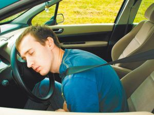 Осторожность при вождении авто