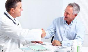 Врач делает заключение после анализа и назначает соответствующее лечение