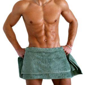 Перед любым упражнением необходимо взять, смоченное в теплой воде полотенце и приложить на живот