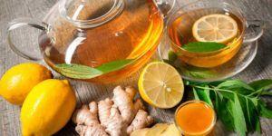 Имбирь, мед и лимон для потенции у мужчин