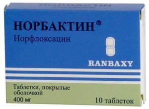 Препарат Норбактин