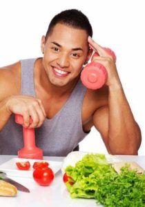 Нужно пересмотреть свой рацион и наладить сбалансированное питание