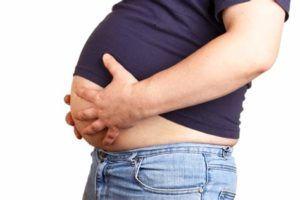 На фоне андрогенного дефицита у больных синдромом Клайнфельтера развивается ожирение