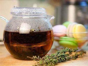 Травяной чай из чабреца