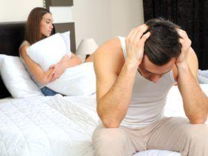 Возникновение психологической импотенции обусловлено психогенными факторами