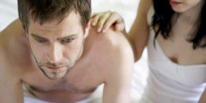 Потеря эрекции у мужчины во время сексуального контакта говорит уже о более серьезном расстройстве интимной сферы