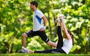 Физические упражнения положительно влияют на работу всего организма