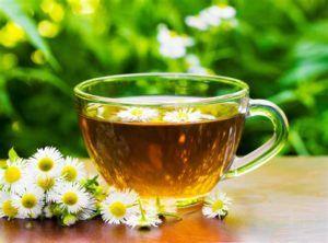 успокаивающий ромашковый чай
