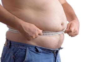 Лишний вес негативно сказывается на потенции