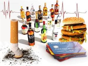 вредные привычки одна из причин патологии