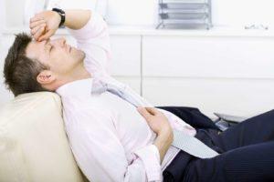 Чувство слабости и быстрая утомляемость